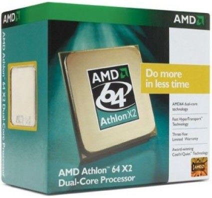 AMD Athlon 64 X2 5200+ (2600 Mhz - sAM2) BOX