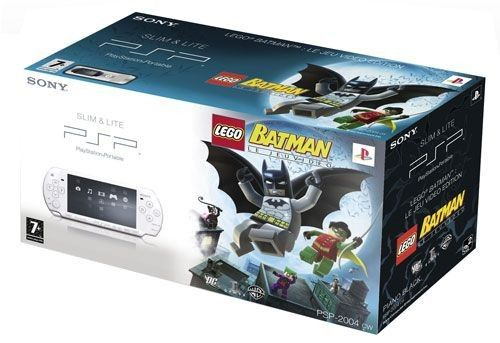 Sony PSP Slim & Lite White + LEGO Batman