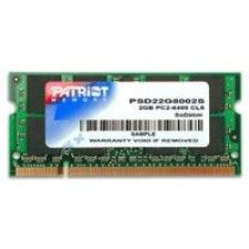 Patriot So-Dimm PC6400 Signature CL5 2Go