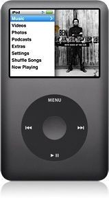 Apple iPod Classic 120Go (Black)