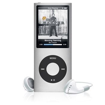 Apple iPod Nano 4G 8Go (Silver)