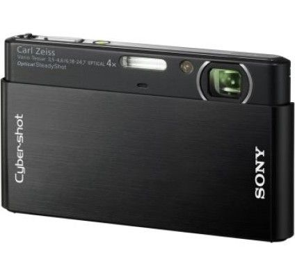 Sony Cyber-Shot DSC-T77 (Black)