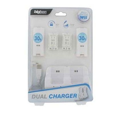 BigBen Wii Dual Charger