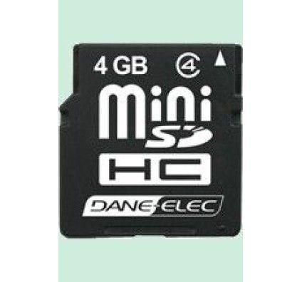Dane Elec Mini SDHC Card 4Go
