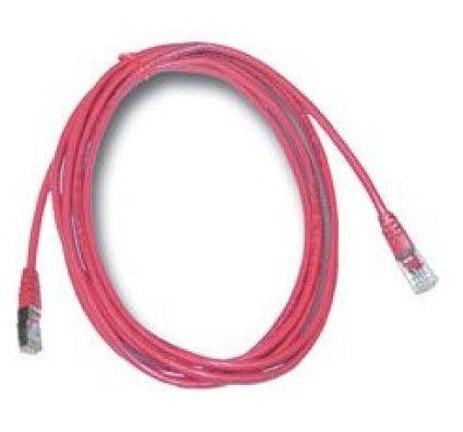 MCL Samar Cable RJ45 Droit 5e 1m (Rouge)
