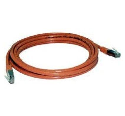 MCL Samar Cable RJ45 Droit 5e 3m (Orange)