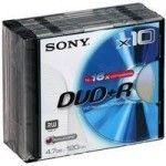 Sony DVD+RW 4.7 Go 16x (Boite DVD x10)