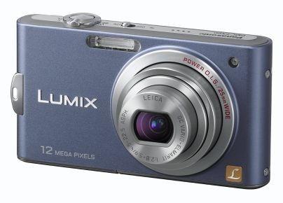 Panasonic Lumix DMC-FX60 (Bleu)