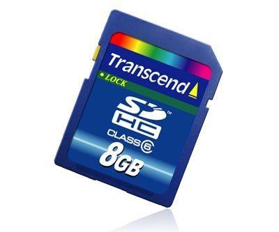 Transcend SDHC 16Go Class 6