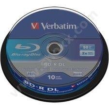Verbatim BD-R 50 Go - 2x (Spindle  x10)