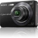 Sony Cyber-Shot DSC-W120 (black)
