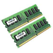 Crucial PC5300 4Go DDR2 (2x2Go)