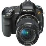Sony DSLR-A200 (Black) + DT 18-70mm