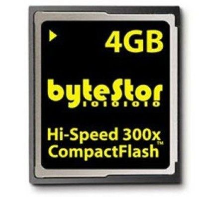 Bytestor Compact Flash 4Go 300x