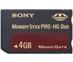 Sony Memory Stick Pro Duo HG 4Go