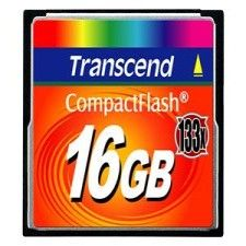 Transcend Compact Flash 16Go 133x