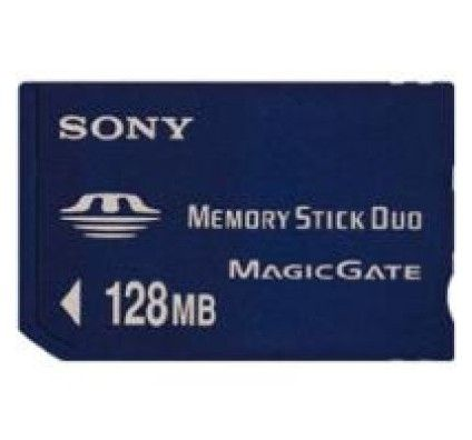 Sony Memory Stick Duo 128MO