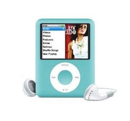 Apple iPod Nano 3G 8Go (Bleu)