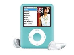 Apple iPod Nano 3G 8Go (Bleu)