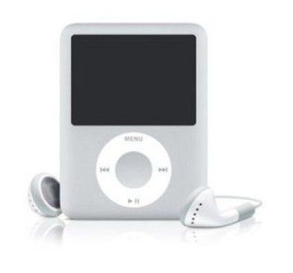Apple iPod Nano 3G 8Go (Silver)