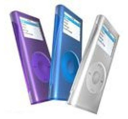 iSkin Pack 3 Silicon Skins pour iPod Nano 2G - The Chill
