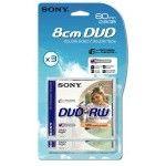 Sony DVD-RW DL 2.8 Go - 2x (Boite CD x3)