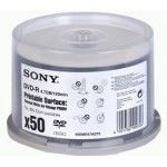 Sony DVD-R 4.7 Go - 8x (Spindle x50) Impression Thermique