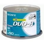 Sony DVD-R 4.7 Go - 8x (Spindle x50) Imprimable