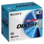 Sony DVD+R 4.7 Go - 16x (Boite CD x10)