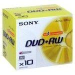 Sony DVD+RW 4.7 Go 4x (Boite CD x10)
