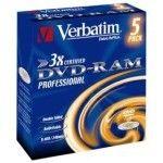 Verbatim DVD-RAM 9.4 Go - 3x (Boite CD x5)