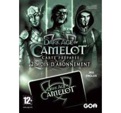 Carte prépayée 2 mois Dark Age of Camelot
