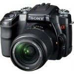 Sony DSLR-A100 (Black) + DT 18-70mm