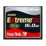 SanDisk Compact Flash Extreme III 16Go
