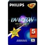 Philips DVD+RW 4.7 Go - 4x (Boite DVD x5)