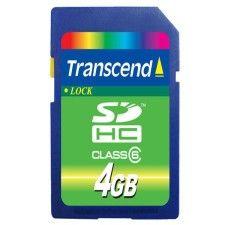 Transcend SDHC 4Go Class 6
