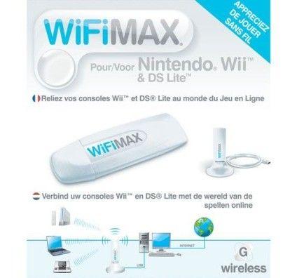 BigBen WiFi Max pour Nintendo Wii et DS Lite
