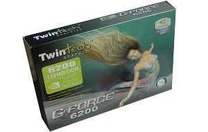 Twintech GeForce 6200 A 256Mo (AGP)
