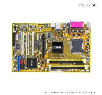Asus P5LD2-SE