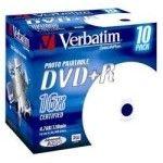 Verbatim DVD+R 4.7 Go - 16x (Boite CD x10) Imprimable