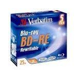 Verbatim BD-R 25 Go - 2x (Boite CD x5)