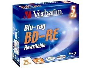 Verbatim BD-RE 25 Go - 2x (Boite CD x5)