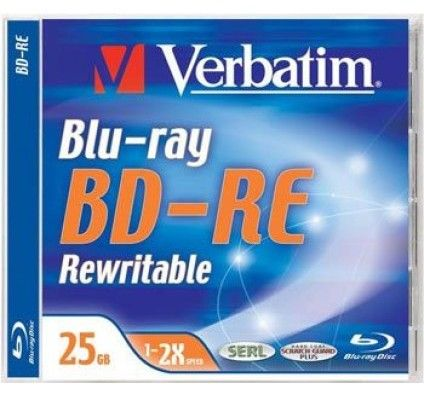 Verbatim BD-RE 25 Go - 2x (Boite CD x1)