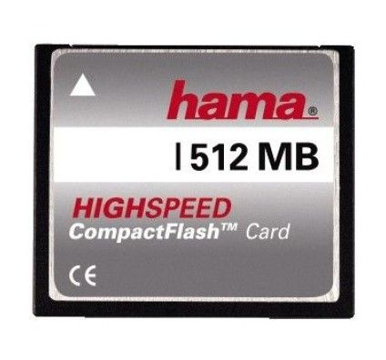 Hama CompactFlash High Speed 512Mo