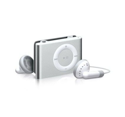 Apple iPod Shuffle 2G 1Go (Silver)