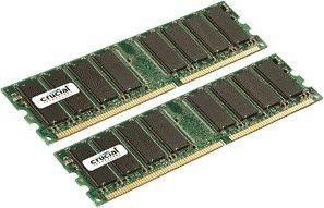 Crucial PC2700 2048Mo DDR (2x1024Mo)