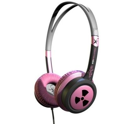 iFrogz EarPollution Toxix (Pink)