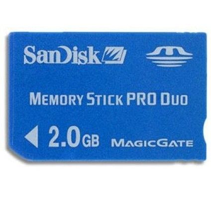 SanDisk Memory Stick Pro Duo 2Go