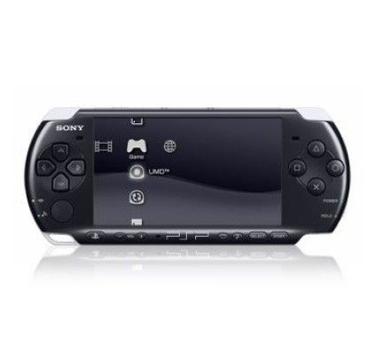 Sony PSP 3000 Slim & Lite (Black)