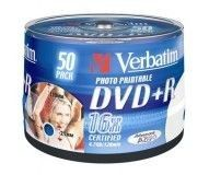 Verbatim DVD+R 4.7 Go - 16x (Spindle x50) Imprimable